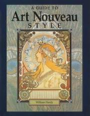 Cover of: A Guide to Art Nouveau Style by William Hardy