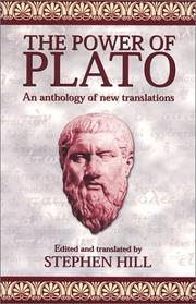 Cover of: Power of Plato | Stephen Hill
