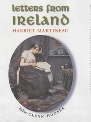 Cover of: Letters from Ireland by Martineau, Harriet