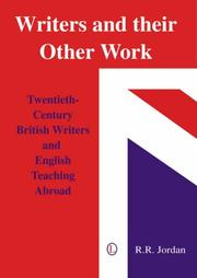 Cover of: Writers and Their Other Work | Bob Jordan
