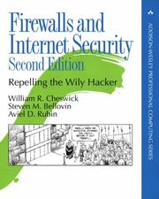 Cover of: Firewalls and Internet security | William R. Cheswick