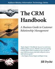 Cover of: The CRM handbook | Jill Dyché