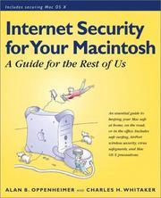 Cover of: Internet security for your Macintosh | Alan B. Oppenheimer