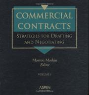 Cover of: Commercial Contracts by Morton Moskin