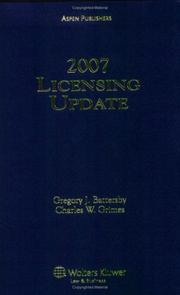Cover of: Licensing Update | Battersby