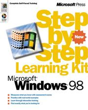 Cover of: Microsoft Windows 98 Step by Step Learning Kit (Step By Step) | Catapult