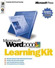 Cover of: MICROSOFT WORD 2000 LEARNING KIT by Charles Rubin