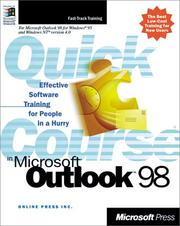 Cover of: Quick Course(r) in Microsoft(r) Outlook(tm) 98 by Online Press Inc.