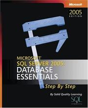 Cover of: Microsoft  SQL Server(TM) 2005 | Solid Quality Learning