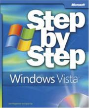 Cover of: Microsoft  Windows Vista Step by Step by Joan Preppernau