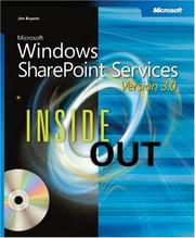 Cover of: Microsoft  Windows  SharePoint  Services 3.0 Inside Out (Bpg Inside Out) | Errin O'Connor