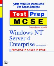Cover of: Test Prep McSe by New Riders Development
