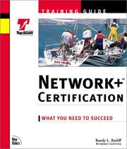 Cover of: Network+ Certification Training Guide by Randy Ratcliff