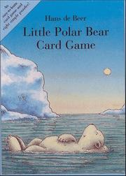 Cover of: Little Polar Bear Card Game by hans de Beer