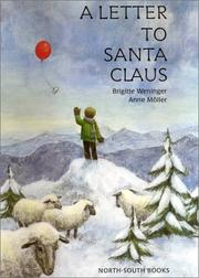 Cover of: A Letter to Santa Claus | Brigitte Weninger