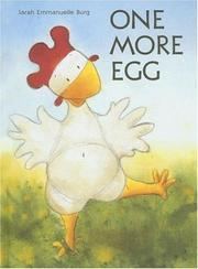 Cover of: One More Egg (LE) | Sara Emmanuelle Burg
