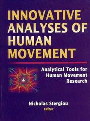 Cover of: Innovative Analyses of Human Movement by Nicholas Stergiou