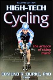 Cover of: High-Tech Cycling by Edmund R. Burke