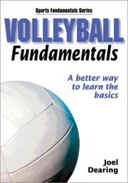 Cover of: Volleyball Fundamentals | Joel Dearing