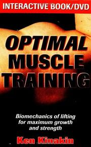 Cover of: Optimal Muscle Training (Book with DVD) by Ken Kinakin