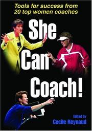 Cover of: She Can Coach! | Cecile, Ph.D. Reynaud
