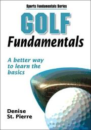 Cover of: Golf Fundamentals by Denise St. Pierre