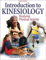 Cover of: Introduction to Kinesiology by Shirl J. Hoffman