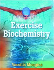 Cover of: Exercise Biochemistry by Vassilis, Ph.D. Mougios