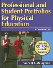 Cover of: Professional And Student Portfolios for Physical Education | Vincent J. Melograno
