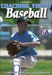 Cover of: Coaching Youth Baseball (Coaching Youth Sports) by Amy Tocco