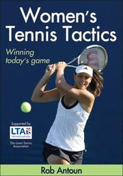 Cover of: Women's Tennis Tactics by Rob Antoun