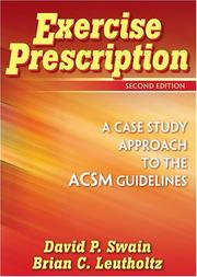 Cover of: Exercise Prescription by David P., Ph.D. Swain