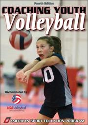 Cover of: Coaching Youth Volleyball (Coaching Youth Sports) | Amy Tocco