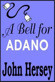 Cover of: A Bell for Adano | John Hersey