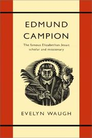 Cover of: Edmund Campion by Evelyn Waugh