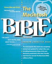 Cover of: The Macintosh bible | Sharon Zardetto Aker