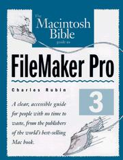 Cover of: The Macintosh bible guide to FileMaker Pro 3 by Charles Rubin