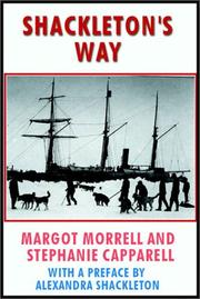 Cover of: Shackleton's Way | M./Capparell, S. Morrell