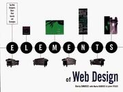 Cover of: Elements of Web design by Darcy DiNucci