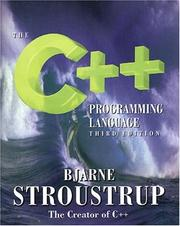 Cover of: The C++ programming language | Bjarne Stroustrup