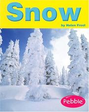 Cover of: Snow by Helen Frost