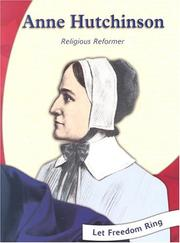 Cover of: Anne Hutchinson by Melina Mangal, Mélina Mangal