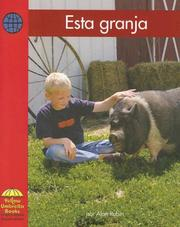 Cover of: Esta Granja/ This Farm by Alan Rubin