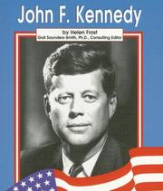Cover of: John F. Kennedy (Famous Americans) by Helen Frost