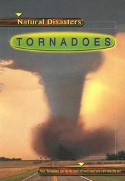 Cover of: Tornadoes (Natural Disasters) by Jean Allen