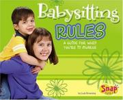 Cover of: Babysitting Rules by Leah Browning