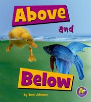 Cover of: Above and Below | Tami Johnson