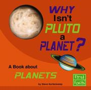 Cover of: Why Isn't Pluto a Planet? by Stephen J. Kortenkamp