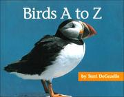 Cover of: Birds A to Z (A+ Books) by Terri Degezelle