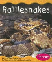 Cover of: Rattlesnakes (Desert Animals) by Emily Rose Townsend